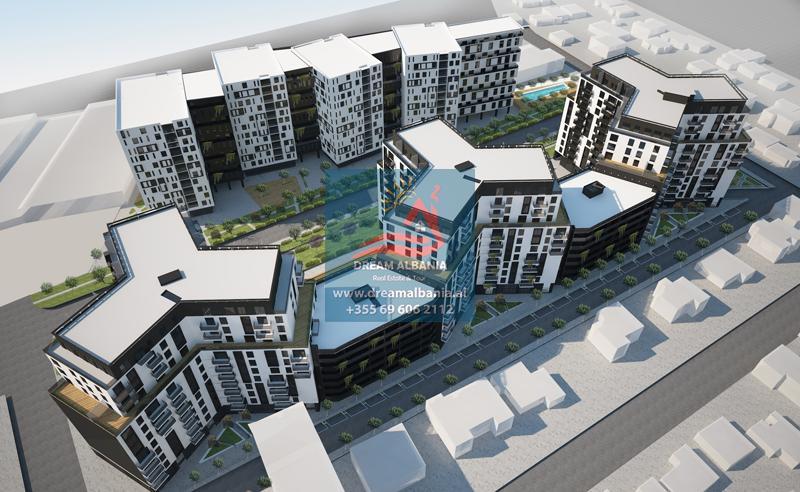 Продается квартира с двумя спальнями в районе Авиационного поля в комплексе Garden Turdiu в Тиране (ID 4121336)